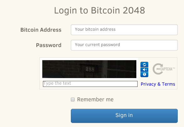 bitcoin address 2048