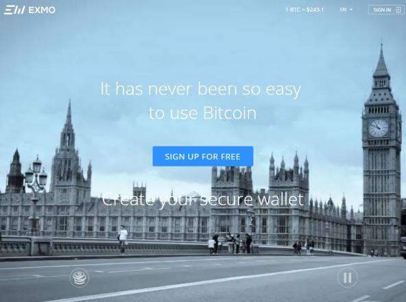 EXMO - Универсальная платформа для работы с криптовалютами